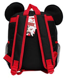 "Disney Mickey Mouse New 3D Ears Red & Black 12"" Small Boys - Ace Trading Co."