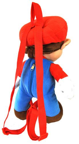 Nintendo Super Mario Bros. Large Plush Doll Backpack 18 - Ace Handbag