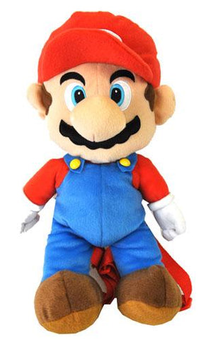 Nintendo Super Mario Bros. Large Plush Doll Backpack 18 - Ace Trading Co.
