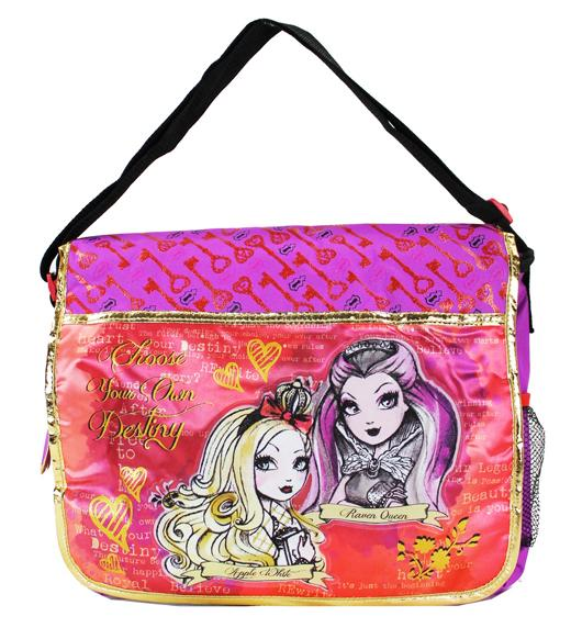 "Ever After High Large Messenger Bag - Destiny 16"" Girls School - Ace Handbag"