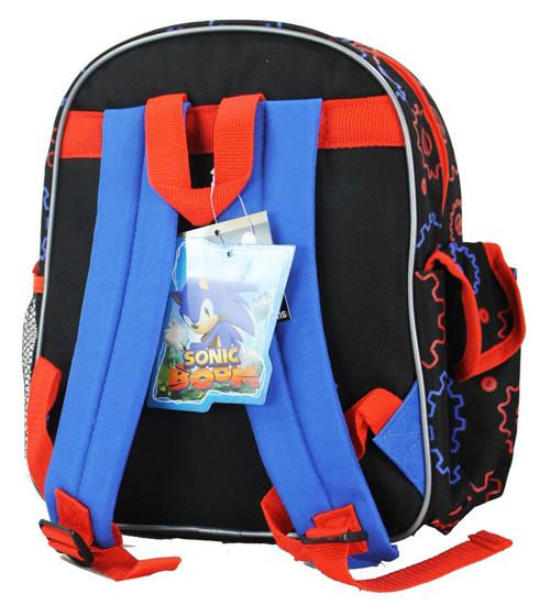 "Sonic the Hedgehog 12"" Small Backpack Sonic Boom School Bag - Ace Handbag"