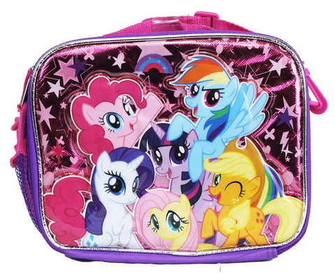 My Little Pony Lunch Bag Snack Tote Friendship Dash Insulated - Ace Trading Co.