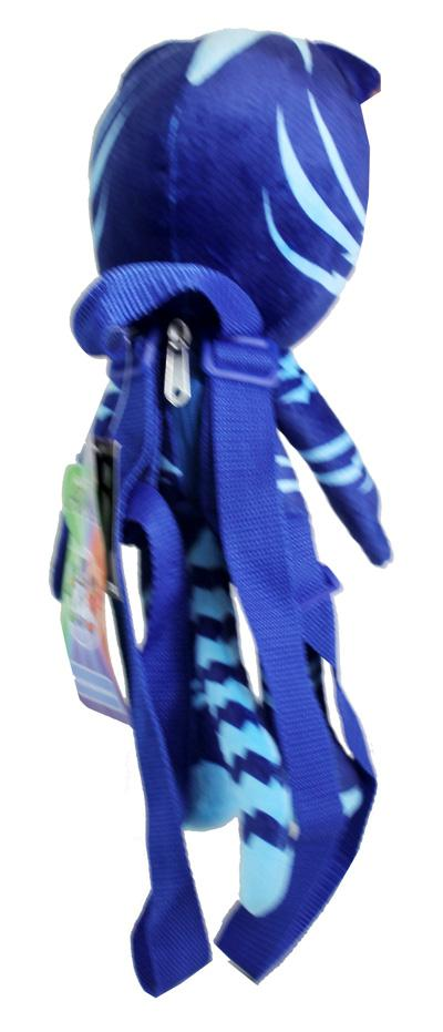 PJ Masks Catboy Plush Doll Backpack Soft Stuffed Tou Costume Bag Blue Mask - Ace Handbag