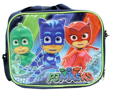 PJ MASKS Gekko Catboy Owlette Soft Lunch kit bag box - Ace Trading Co.