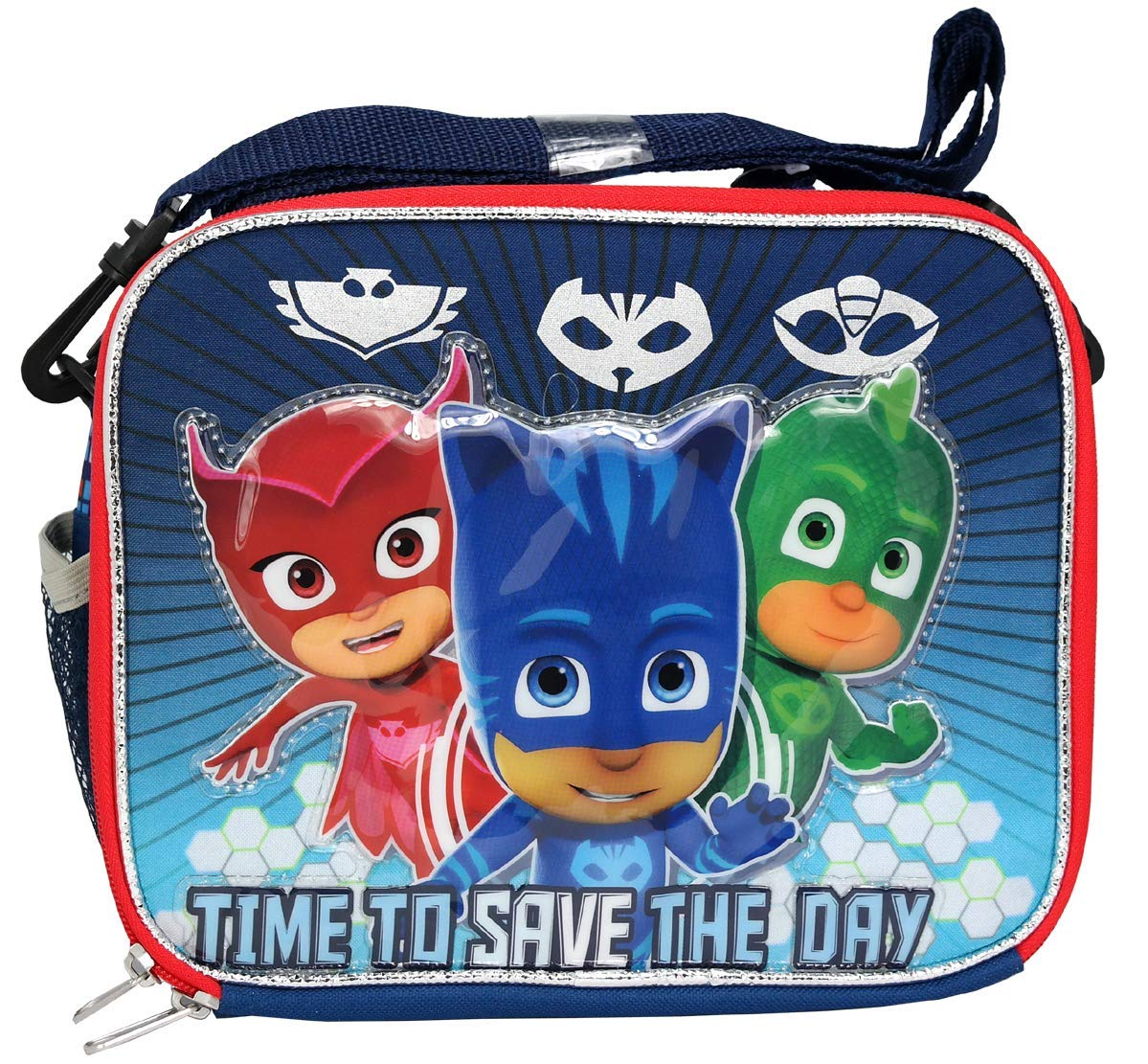 PJ Masks Catboy Gekko Owlette Soft Lunch bag - Ace Handbag
