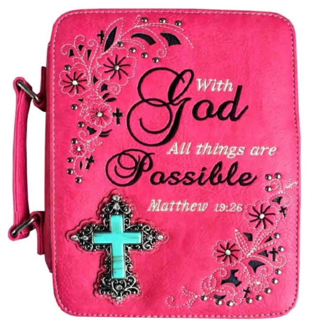Christian Bible Case Hot Pink - Ace Handbag