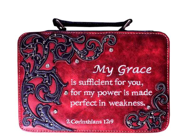 Christian Bible Case Red - Ace Handbag