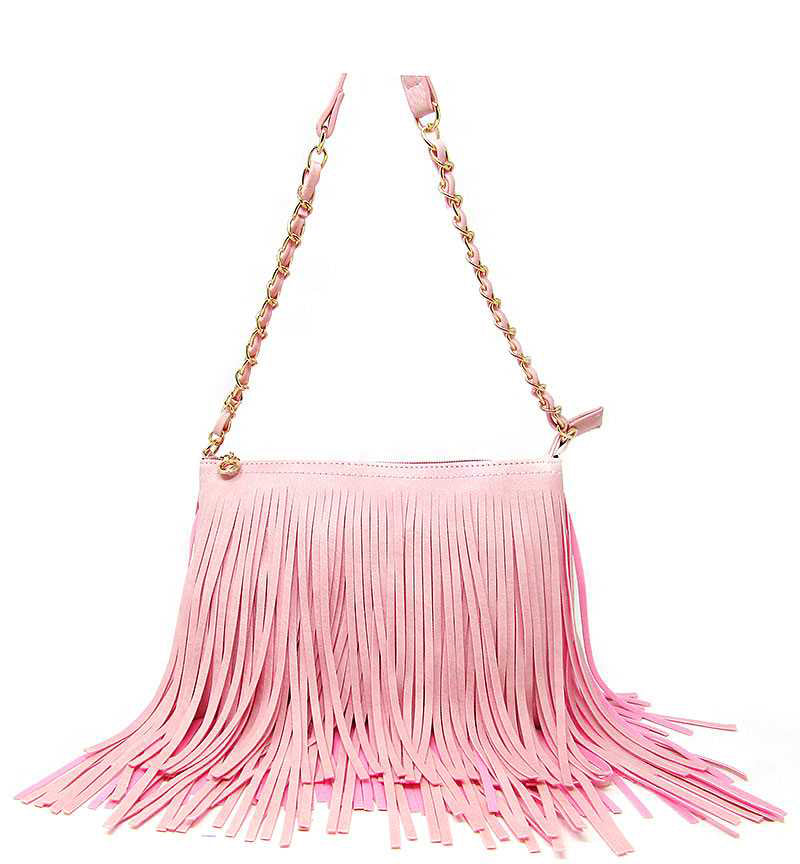 Western Fringe Cross Body Bag Stone - Ace Handbag