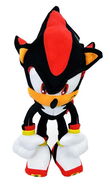 Plush Backpack Sonic The Hedgehog New Shadow 22 Inch Soft Doll Back Ace Handbag