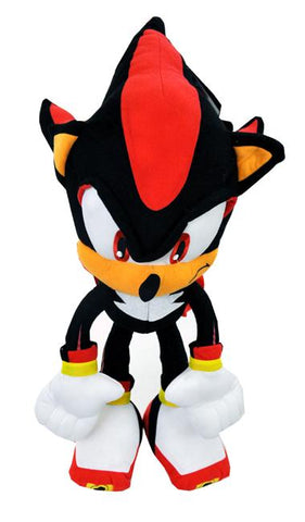 Plush Backpack SONIC THE HEDGEHOG NEW Shadow 22 Inch Soft Doll Back - Ace Trading Co.