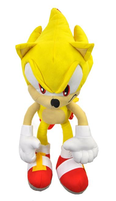The Hedgehog Super Sonic Plush Doll Bag Custom Backpack 22 Inch Xl Kids To Adults Ace Handbag