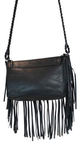 Western Cowgirl Crossbody Bag Black - Ace Handbag