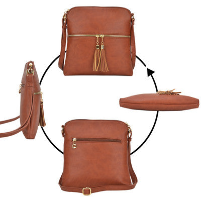 Messenger Bag  LP062 BK - Ace Handbag