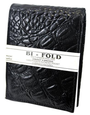 Bi-Fold Crocs Wallet Black