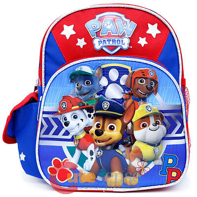 "Paw Patrol 10"" Kids Small Size Backpack Bag"