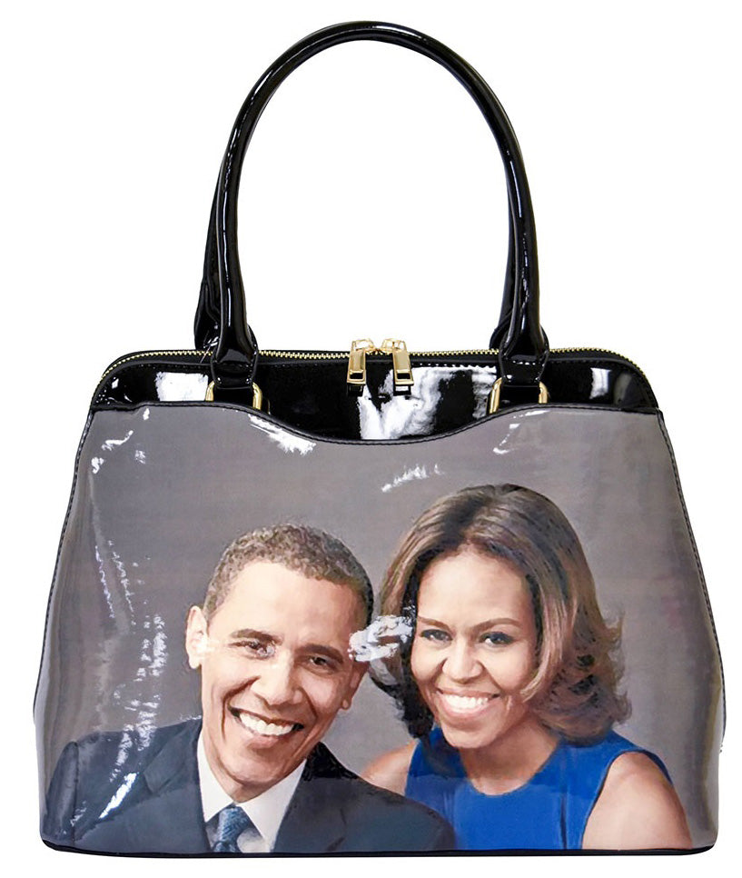 Michelle Obama Shoulder Tote Style 1 - Ace Handbag