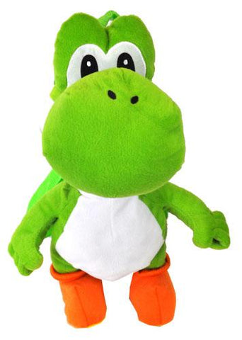 Super Mario Bros. Plush Backpack Yoshi - Ace Trading Co.