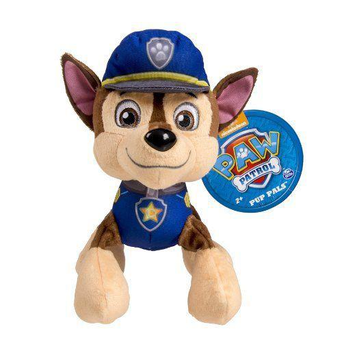 Small Chase Nickelodeon Paw Patrol Plush Pup Pals Spy Marshall Rocky Figure - Ace Handbag