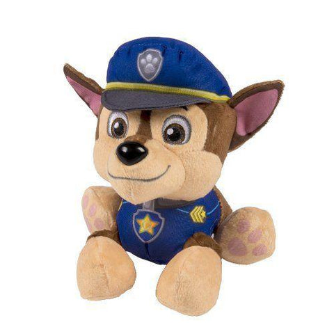 Small Chase Nickelodeon Paw Patrol Plush Pup Pals Spy Marshall Rocky Figure - Ace Trading Co.