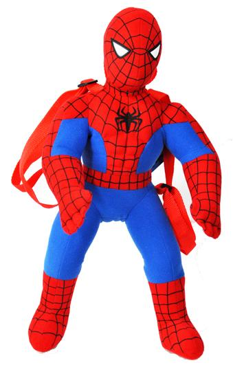 Spiderman Plush Backpack - Ace Handbag