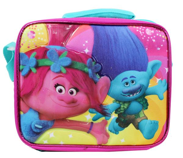 Dreamworks Trolls School Insulated Cute Lunch Bag - Ace Handbag