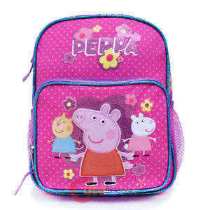 "Peppa Pig Backpack 10"" B/P"