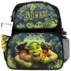 "Shrek 12"" Small Kids School Backpack - Ace Handbag"