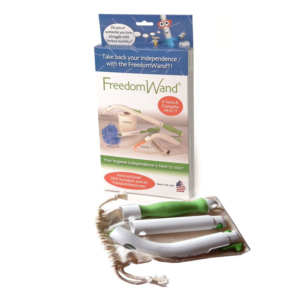 FreedomWand® Master kit Toileting Aid