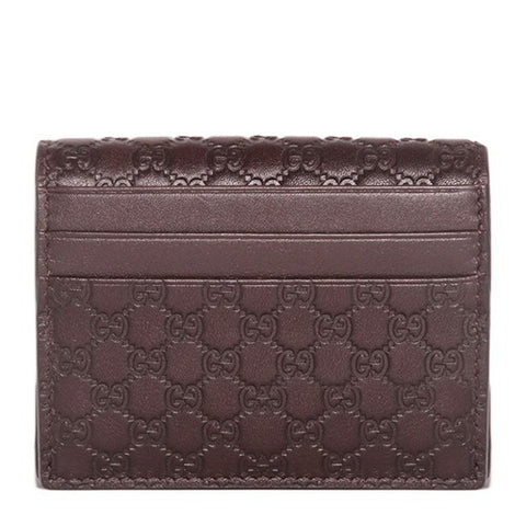Gucci Gucci Microguccissima Card Case Small Leather Goods - DNovo