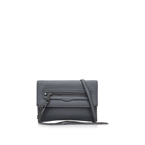 Rebecca Minkoff Small Regan Clutch (Greydenim)