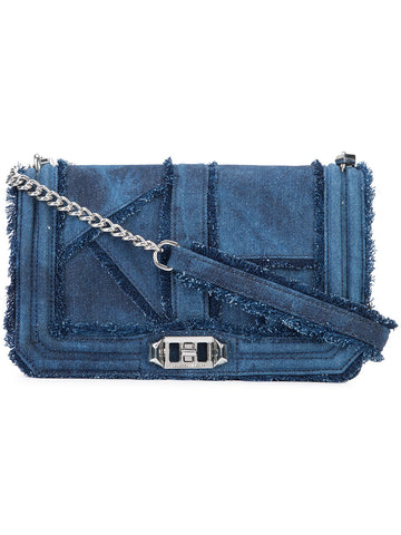 Rebecca Minkoff Love Crossbody Bag (Denim)