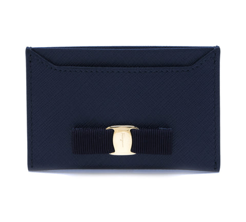 Salvatore Ferragamo Salvatore Ferragamo Vara Card Case Small Leather Goods - DNovo