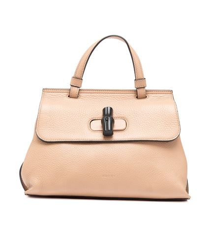 Gucci Gucci Bamboo Daily Small Top Handle Bag [AS-IS] Bags - DNovo
