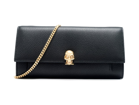 Alexander McQueen Alexander McQueen Leather Wallet With Chain Bags - DNovo