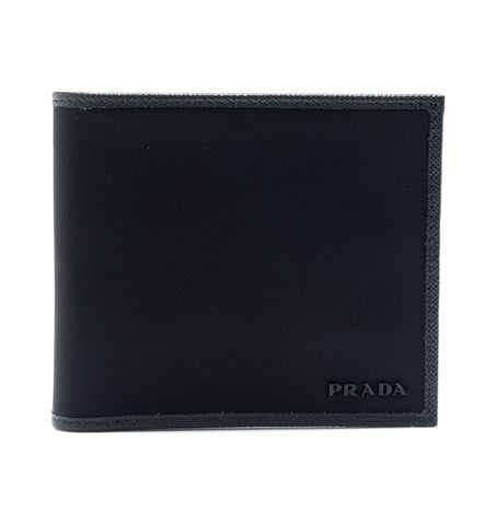 Prada Prada Tessuto Horizontal Bifold Wallet Small Leather Goods - DNovo