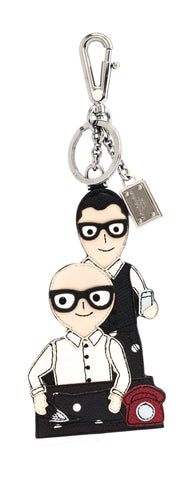 Dolce & Gabbana Dolce & Gabbana DG Family Key Chain Small Leather Goods - DNovo