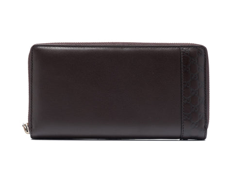 Gucci Gucci Microguccissima Long Zip Around Wallet Small Leather Goods - DNovo