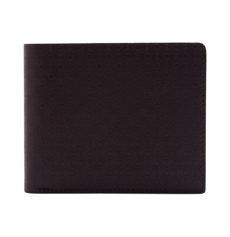 Salvatore Ferragamo Salvatore Ferragamo Embossed Leather Bifold Wallet Small Leather Goods - DNovo