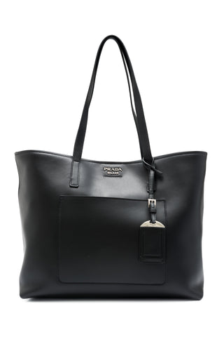Prada Prada City Calf Shopping Tote Bags - DNovo