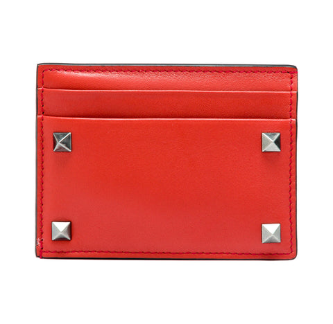 Valentino Garavani Valentino Garavani Leather Cardholder Small Leather Goods - DNovo
