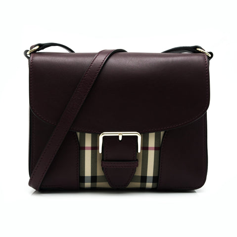 Burberry Burberry Horseferry Check Small Crossbody Bags - DNovo