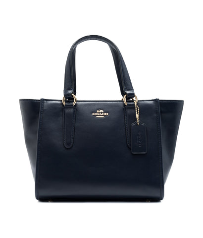 Coach Coach Mini Crosby Carryall Navy [AS-IS] Bags - DNovo