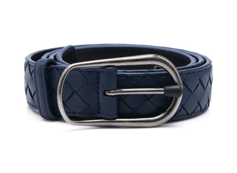 Bottega Veneta Bottega Veneta Intrecciato Nappa Leather Belt Accessories - DNovo