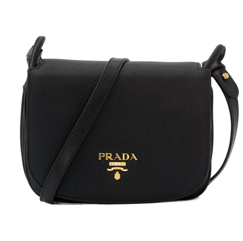 Prada Prada Vitello Daino Flap Crossbody [AS-IS] Bags - DNovo