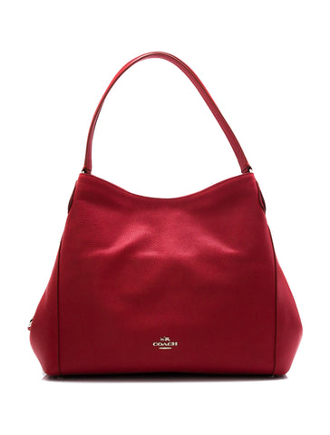 Coach Coach Refined Pebbled Leather Edie Shoulder Bag Bags - DNovo