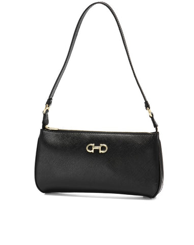 Salvatore Ferragamo Lisetta Shoulder Bag (Nero) # 21C3680614039