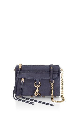 Rebecca Minkoff Mini M.A.C Crossbody Bag (Moon)