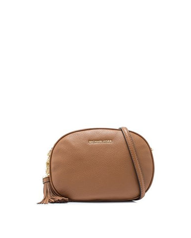 Michael Kors Michael Kors Ginny Medium Messenger Bag (Luggage) Bags - DNovo