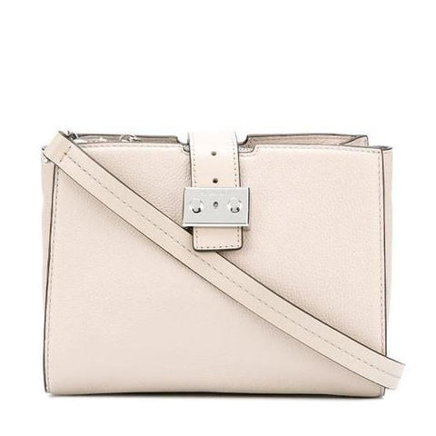 Michael Kors Michael Kors Bond Medium Messenger Bag (Cement) Bags - DNovo