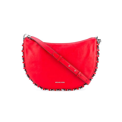 Michael Kors Michael Kors Piper Cross-Body Messenger Shoulder Bag (Bright Red) Bags - DNovo
